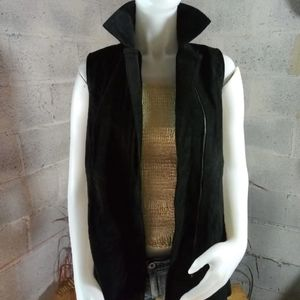 Dennis by dennis basso leather vest
